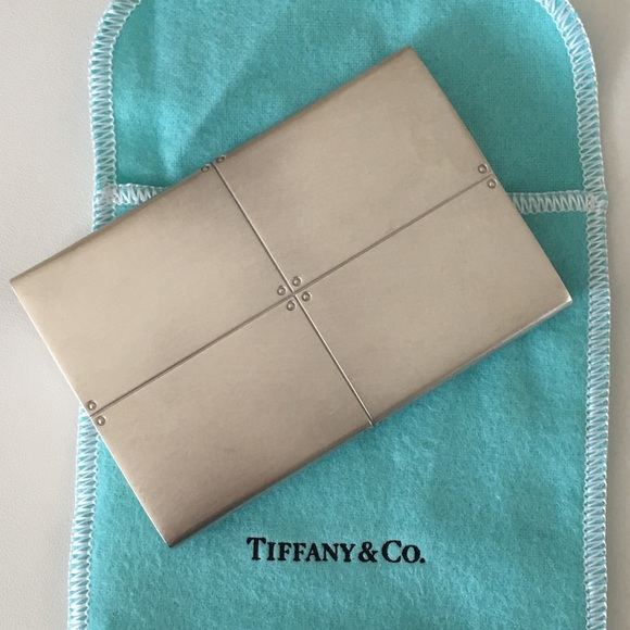 quality design e047d fe6ae Tiffany & Co. Sterling Silver Business Card Case